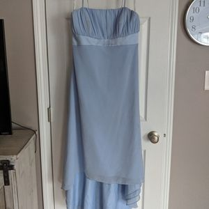 Peri blue bridesmaids/MOH wedding dress